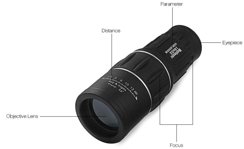 monocolo telescopio